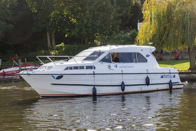 Barnes Brinkcraft Brinks Omega Class Four Star Boat