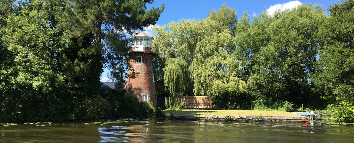 Didlers Mill on the river Bure - photograph by customer Anthony Peet