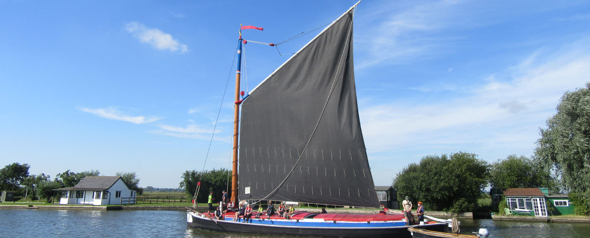 The Wherry Albion - photograph from customer Joanna Barnes