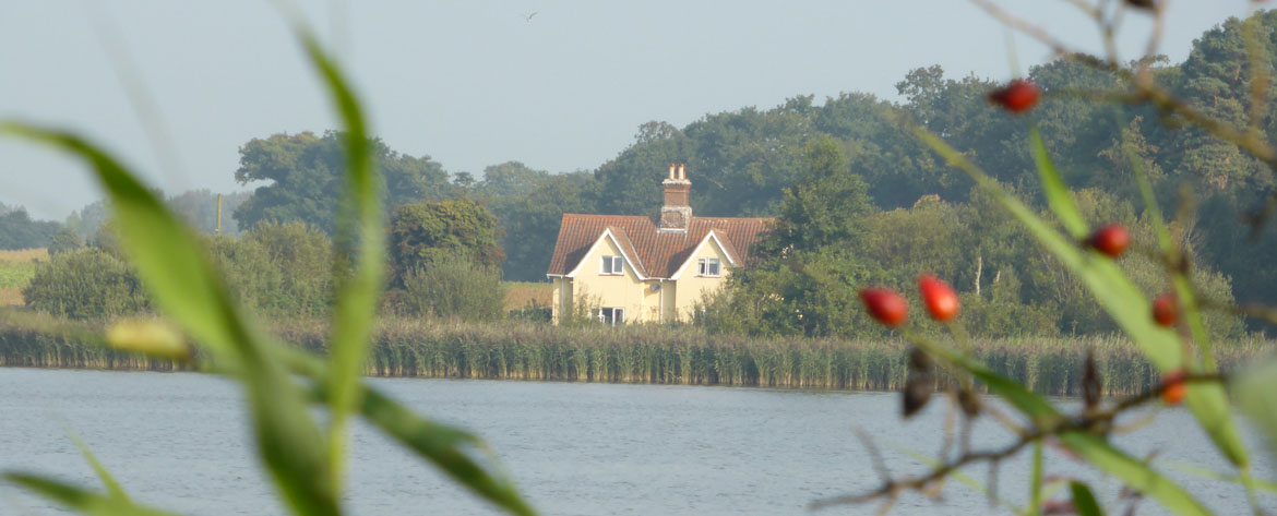 The Norfolk Broads, beautiful scenery wherever you look