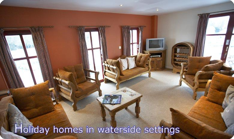 Holiday homes in waterside settings on the Norfolk Broads