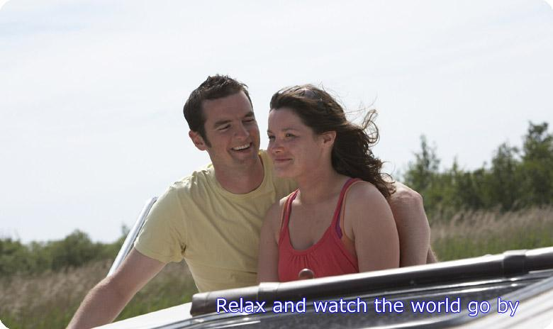 Relax and wath the world go by on the Norfolk Broads