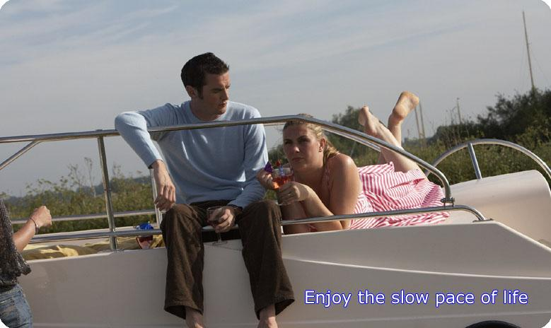 Enjoy the slow pace of life on the Norfolk Broads