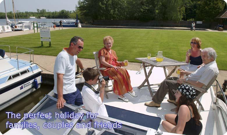 The Norfolk Broads are the perfect holiday for families, couples and friends