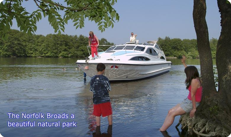 The Norfolk Broads a beautiful National Park