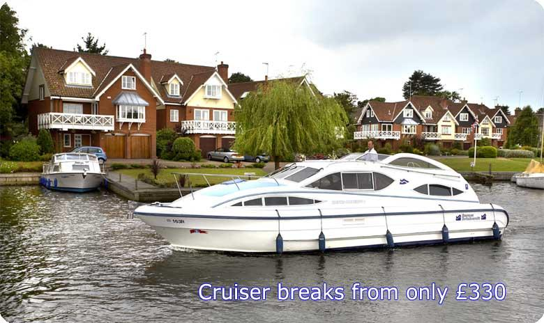 Cruiser breaks from Barnes Brinkcraft