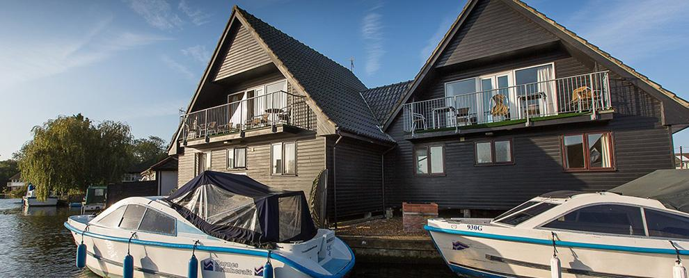 Daisy Broad Lodges, self catering on the Norfolk Broads