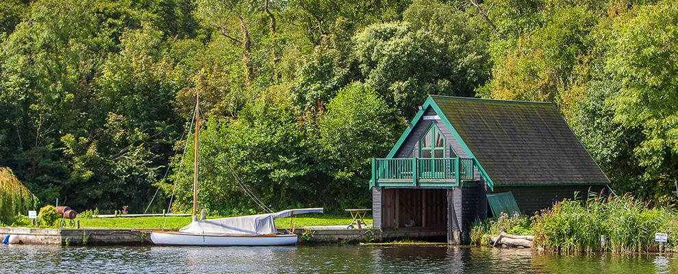 Beautiful tranquility on the Norfolk Broads