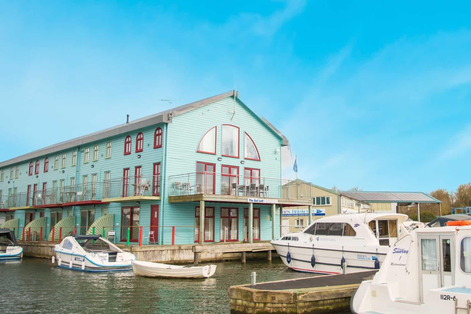 Sail Loft Holiday Cottage Wroxham Norfolk Barnes Brinkcraft