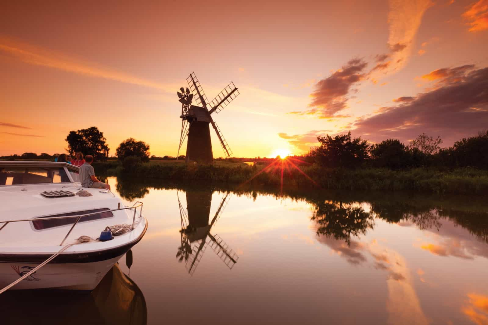 First Night On The Norfolk Broads