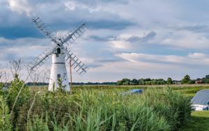Windmills on the Norfolk Broads